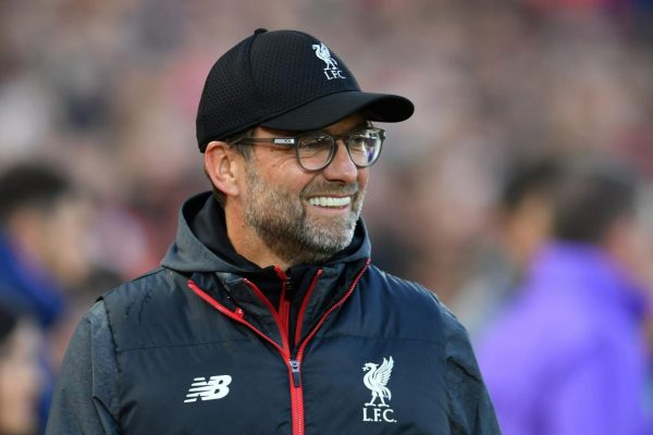 Klopp is OK with Liverpool's squad right now.