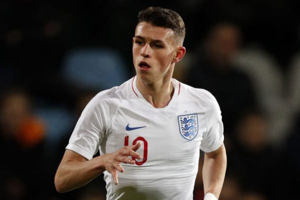 Man City confirm Foden will be out for four weeks from injury